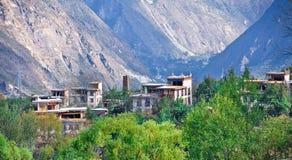 Vue de Yading, le Qinghai 2 Image libre de droits