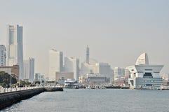 Vue de Yokohama Photo stock