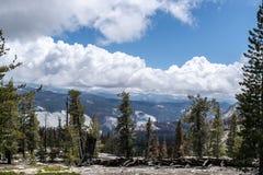 Vue de Yosemite Photos stock