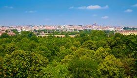 Vue de zoo de Vienne Photo libre de droits