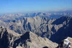 Vue de Zugspitze Photographie stock