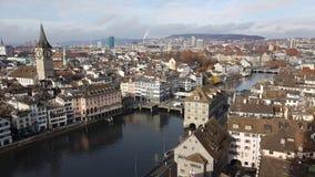 Vue de Zurich photo stock