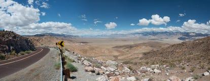 Vue Death Valley Etats-Unis du ` s de Dante photo stock