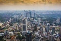 Vue des bâtiments dans la ville de Kuala Lumpur Malaysia photos libres de droits