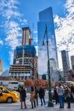 Vue des bâtiments les Etats-Unis neufs York Photo stock