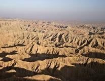 Vue des bad-lands de Borrego Photos libres de droits