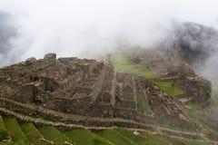 Vue des blocs de ville dans la ville antique Photographie stock libre de droits