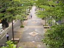 Vue des boulevards de Taïpeh images stock