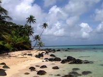Vue des Caraïbes Images libres de droits