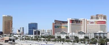 Vue des casinos à Las Vegas Photos stock