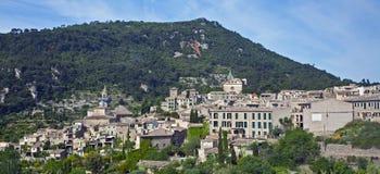 Vue des collines et des vallées à Valldemosa Photo libre de droits