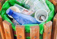 Vue des déchets dans des déchets Photos stock