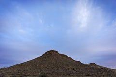 Vue des déserts du Nevada aux Etats-Unis image stock