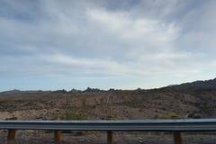 Vue des déserts du Nevada aux Etats-Unis images libres de droits