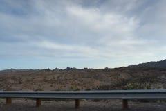 Vue des déserts du Nevada aux Etats-Unis images stock