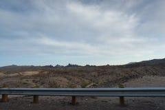 Vue des déserts du Nevada aux Etats-Unis photos stock