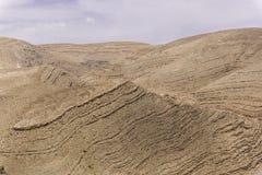 Vue des déserts et des montagnes image stock