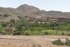 Vue des déserts et des montagnes photographie stock libre de droits