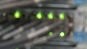 Vue des flashes de LED, plan rapproché banque de vidéos