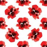 Vue des fleurs d'aquarelle faites dans le vecteur illustration libre de droits