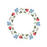 Vue des fleurs d'aquarelle faites dans le vecteur Photos stock