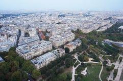Vue des Frances de Paris photo libre de droits