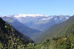 Vue des glaciers de Pyrénées en été image libre de droits