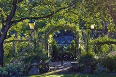 Vue des jardins 3 Images libres de droits
