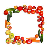 Vue des légumes images libres de droits