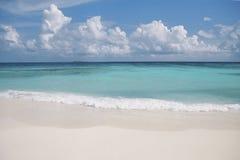 Vue des Maldives Photographie stock