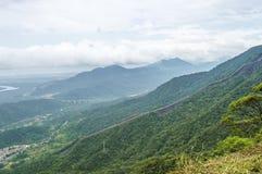 Vue des montagnes Photographie stock libre de droits