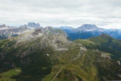 Vue des montagnes de dolomites Images stock
