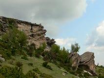 Vue des montagnes de Rhodope, Bulgarie Photo libre de droits