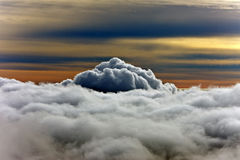 Vue des nuages Images libres de droits