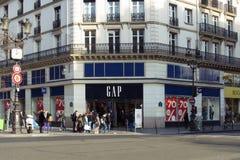 Vue des personnes marchant à Paris photos libres de droits