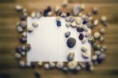 Vue des pierres de mer photographie stock
