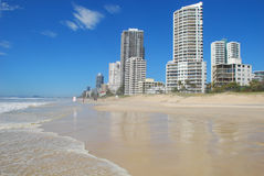 Vue des surfers paradis, Australie Photos libres de droits