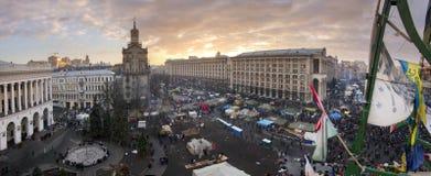 Vue des tailles au Maidan Photographie stock libre de droits