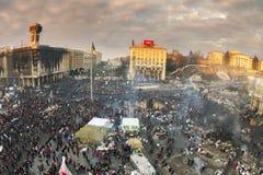 Vue des tailles au Maidan Photographie stock