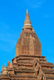 Vue des temples de Bagan, Myanmar Photos libres de droits