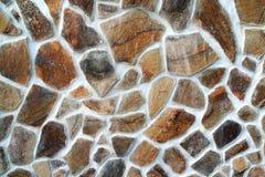 Vue des textures en pierre Image libre de droits