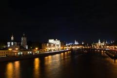 Vue des tours de Moscou Kremlin Image libre de droits