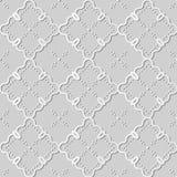 vue Dot Line de vigne croisée de contrôle de courbe d'art du livre blanc 3D Images libres de droits