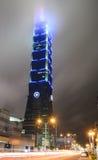 Vue du bâtiment de Taïpeh 101 Photographie stock libre de droits