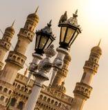 Vue du bâtiment iconique de Charminar Photos libres de droits