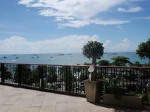 Vue du balcon photographie stock