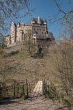 Vue du Burg Eltz de château photographie stock