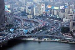 Vue du Caire photo stock