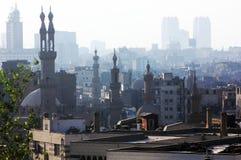 vue du Caire avec des mosquées en Egypte en Afrique photo libre de droits