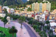 Vue du cennter de Bogota Images libres de droits